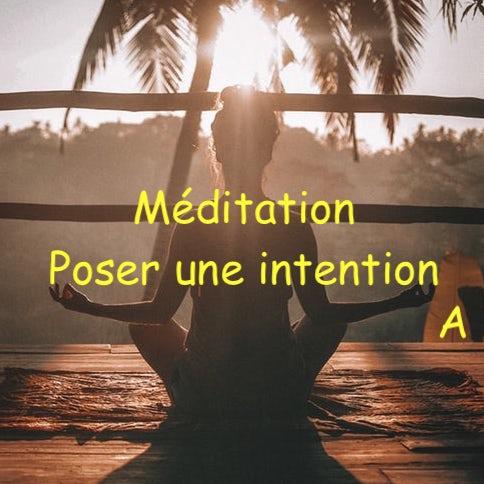 ép. 84 – Méditation de la nouvelle année pour poser des intentions